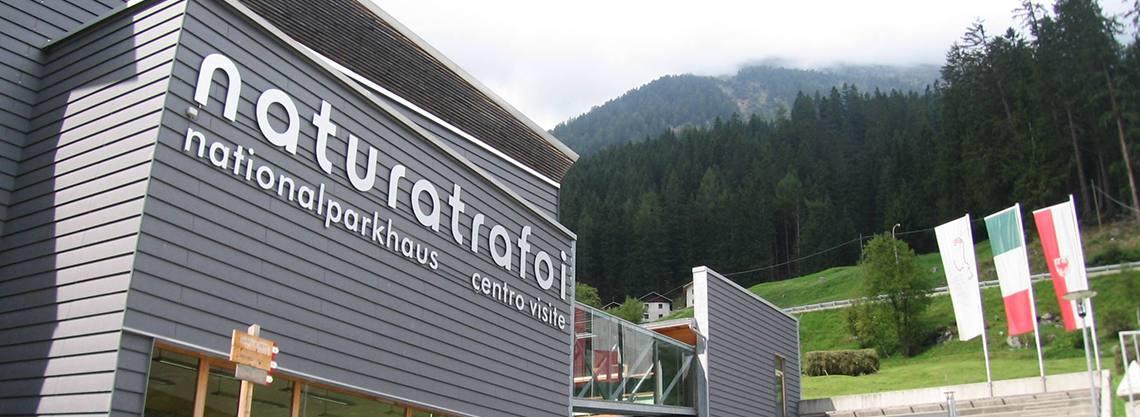 Parco Nazionale dello Stelvio: Centro Visite Naturatrafoi