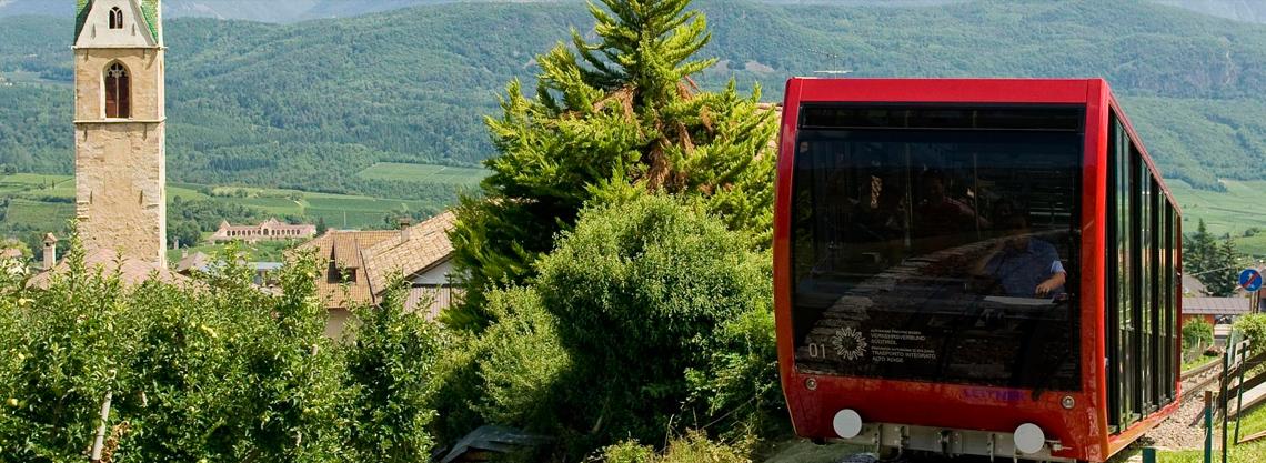 Mendelbahn in Kaltern